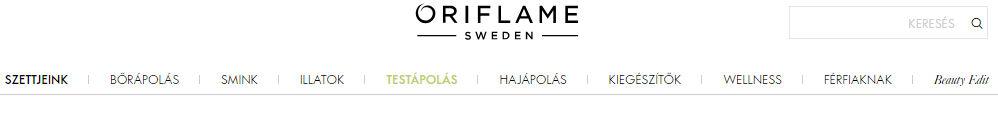 oriflame regisztráció termékek